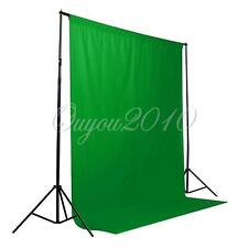 6x9 ft 1.8x2.7m Green Screen Muslin Backdrop Photo Studio Photography Background