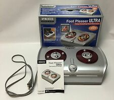 Homedics Foot Pleaser Deep Kneading Massager with Heat Model FM-CR In Box