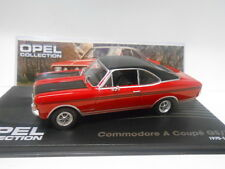 OPEL COMMODORE A COUPE GS/E 1970-71 OPEL COLLECTION #1 EAGLEMOSS IXO 1/43