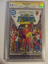 The New Teen Titans #nn - CGC 9.8 -  Signed by: Marv Wolfman - DC Comics - 11/83