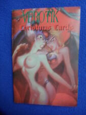 ~ RARE! ~VEROTIK CHRISTMAS CARD SET ~ FEATURING THE BLACKEST OF SENTIMENTS
