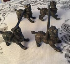 Antique victorian? Knife Rests Dogs