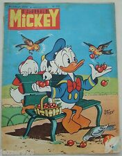 ¤ LE JOURNAL DE MICKEY n°112 ¤ 18/07/1954