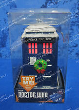 Doctor Who BBC Tardis Light Up Christmas Ornament  Wreath Gift New Kurt S Adler