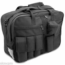 NEW Mens Small Tactical Messenger Shoulder Shooting Police Kit Bag Case Black