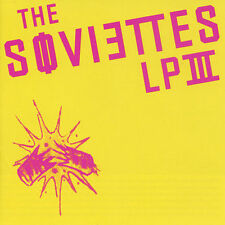 The Soviettes LP III by The Soviettes (CD, 2003) CD & PAPER SLEEVE ONLY