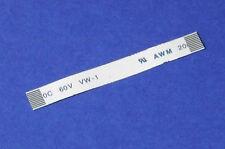 FFC a 10pin 0.5 pitch 5cm limande Flat Flex Cable ribbon AWM câble plat