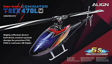 DHL Ship - New ALIGN RH47E01XW (or RH47E07XW) T-REX 470LM Super Combo Helicopter