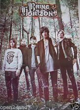 "BRING ME THE HORIZON ""GROUP STANDING IN FOREST"" ASIAN POSTER - Metalcore Music"