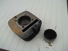 1999 YAMAHA KODIAK 400 4WD ENGINE JUG CYLINDER WITH PISTON