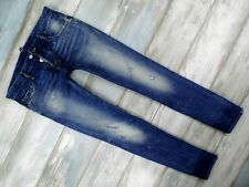 DSQUARED2 JEANS MEN'S BLUE DENIM TAPERED MADE IN ITALY SIZE 50 34/34 W34 L34
