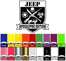 Jeep Decal | WRANGLER Hood Fender Window Door Decal rubicon sahara JK CJ TJ YJ
