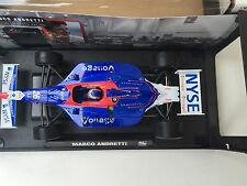 MARCO ANDRETTI, HAND SIGNED , ROOKIE, NYSE 1/18 SCALE DIECAST BY GREENLIGHT