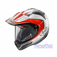 NEW IN BOX ARAI TOUR CROSS 3 FLARE RED 59-60cm L Large HELMET MADE IN JAPAN