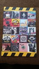 """THE CLASH, PROMO POSTER OF THE SINGLES; 12"""" X 18"""""""