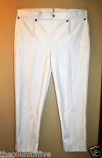 Revolutionary War Trousers w/Drop Front Panel - White Wool - Size 32
