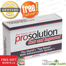 ProSolution | 60 x Male Potency Pills + Free Gift & Free Delivery