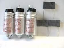 """Studer REVOX  B77 MKI  """" De Luxe""""  Motor- und Entstör-Kondensator Satz NEU"""