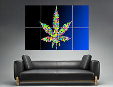 Weed Marijuana Wall Art  Poster Grand format A0