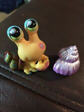 Littlest Pet Shop Postcard Pets - Hermit Crab #1008 Purple Shell Design