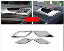 Chrome Interior Door Handle Stripe cover trim 4pcs for VW Golf 7 MK7 2014 2015
