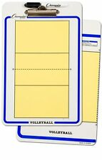 """NEW Champion Dry Erase 2 Sided Volleyball Coaches Board Marker Size 11""""x16"""""""