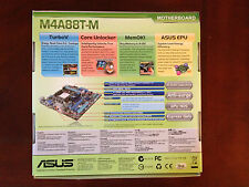 ASUS M4A88T-M MotherBoard AM3,AMD 880G/SB710, 90-MIBD20-G0AAY0GZ