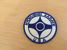 kyokushin karate patch, , new old stock