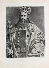 Jan Matejko Krakau Kasimir der Große Kazimierz Wielki Polen Poland Krone Bibel