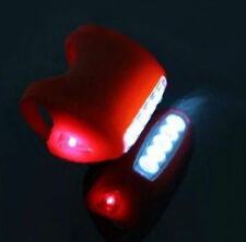 Cycling Rear Red 7 LED Head Front Light Silicone Lamp Bike Bicycle Super Bright