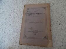 1883.Bulletin société histoire naturelle Toulouse.Pyrénées.Trutat etc