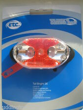 ETC Rear Bike / Cycle 5 LED Tail Light Carrier / Luggage Rack Fitting ELA4055