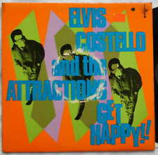 Elvis Costello and the Attractions - Get Happy F Beat Records XXLP1