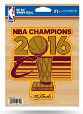 "Cleveland Cavaliers 2016 Champions 5"" Flat Vinyl Decal Sticker NBA Basketball"