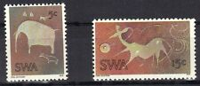SOUTH WEST AFRICA MNH 1974 ART - ROCK CARVINGS ANIMAL ISSUE