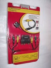 Hama 011420 pc Kit de conexión de vídeo S-video RCA reducido Scart