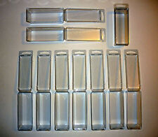 ACTION FIGURE BLISTER CASE LOT OF 10 Protective Clamshell Cases STAR WARS GI JOE