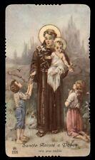 "santino-holy card"""" ediz. AR n.2225 S.ANTONIO DA PADOVA"