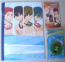 Free! Iwatobi Swim Club Lote Mixto Rin Makoto Portátil Metal encanto Mascota