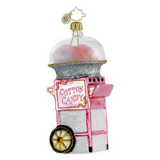 Christopher Radko - Fairground Favorite - Cotton Candy Machine Ornament 1016377