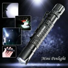 New Enjoydeal Tactical Mini Pen Pocket CREE XP-E R2 LED 1000LM Flashlight Torch