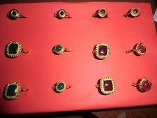 Lot revendeur - palette solderie/déstockage - bijoux fantaisies - 30  bague