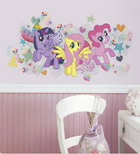 MY LITTLE PONY wall sticker 6 decals MURAL party decor horse MLP Pinkie Pie