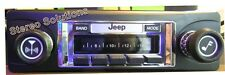 '78-86 Jeep CJ 5, 7, Scrambler NEW 300 watt AM FM Stereo Radio iPod, USB, Aux