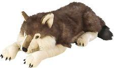 """CUDDLEKINS Wolf 30"""" Plush Big Large Soft Stuffed Dog Animal Giant Cuddly Jumbo"""