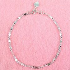 Sterling Silver - 10 Inch Anklet (AK066)