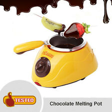 Chocolatiere Electric Chocolate Fondue Maker Melting Pot - Imported
