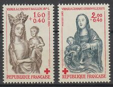 Frankreich France 1983 ** Mi.2420/21 Rotes Kreuz Red Cross Maria Mary [st0179]