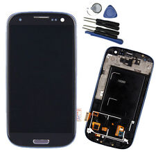 Replacement For Samsung Galaxy S3 I9300 LCD Digitizer Touch Screen W/ Frame UK
