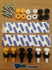 26 Piece Number Plate Fixing Screws Caps Bolts Nuts Fitting Fixing Kit Car Bike